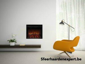 Noble Flame NF600 Vierkante elektrische haard met verwarming