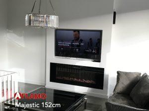televisie boven de haard tvwand